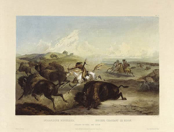 The arrival of Native Americans