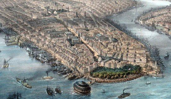New York, 1850