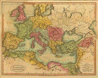 Romanum Imperium - Roman Empire Map 320x255