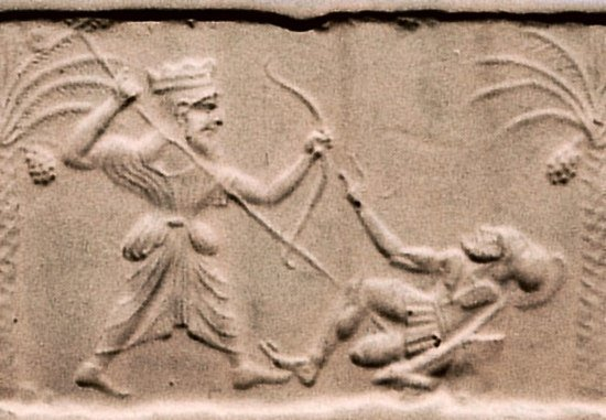 Xerxes Killing Leonidas
