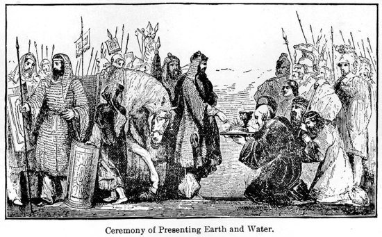 Presenting Earth and water
