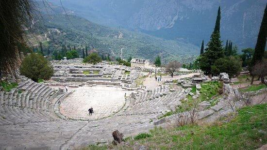 Ancient Delfos, Greece