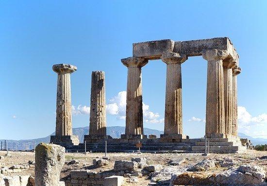 Temple of Apollo, Corinth.