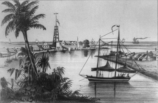 Louisiana in 1857