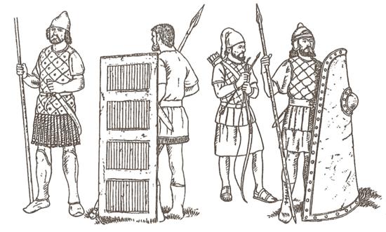 Xerxes' army