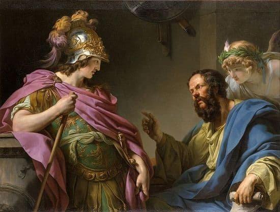 Alcibades and Socrates