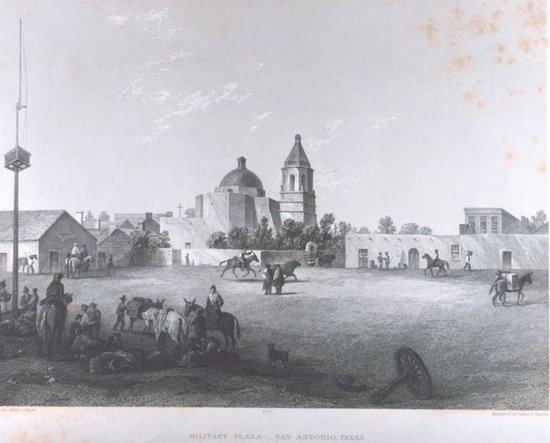 San Antonio Texas in 1857