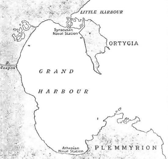 Syracuse, Peloponnesian war