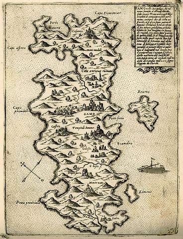 Map of Samos