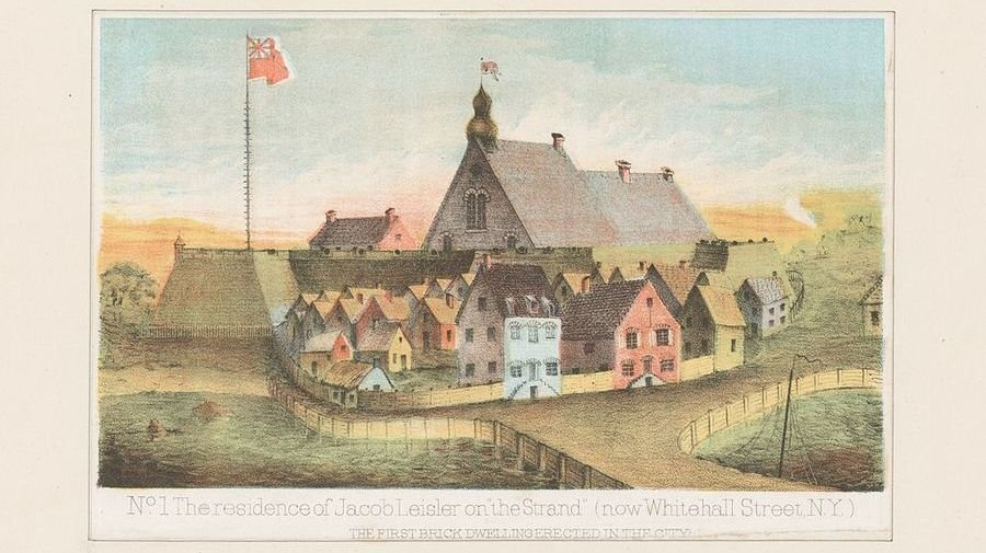 Leisler's Rebellion: A Scandalous Minister in a Divided Community 1689-1691 2