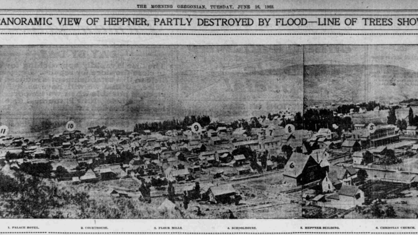 """""""Without a Second's Warning"""" The Heppner Flood of 1903 6"""