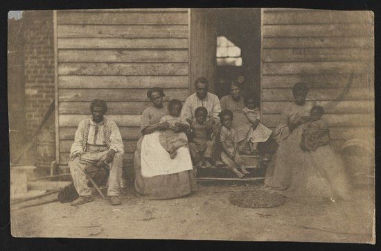 Gaine's farm slaves