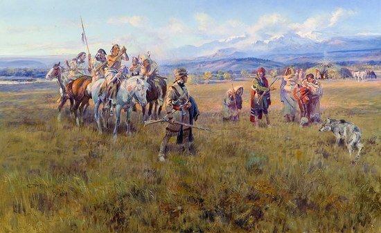 Shoshone Camp Sacajawea
