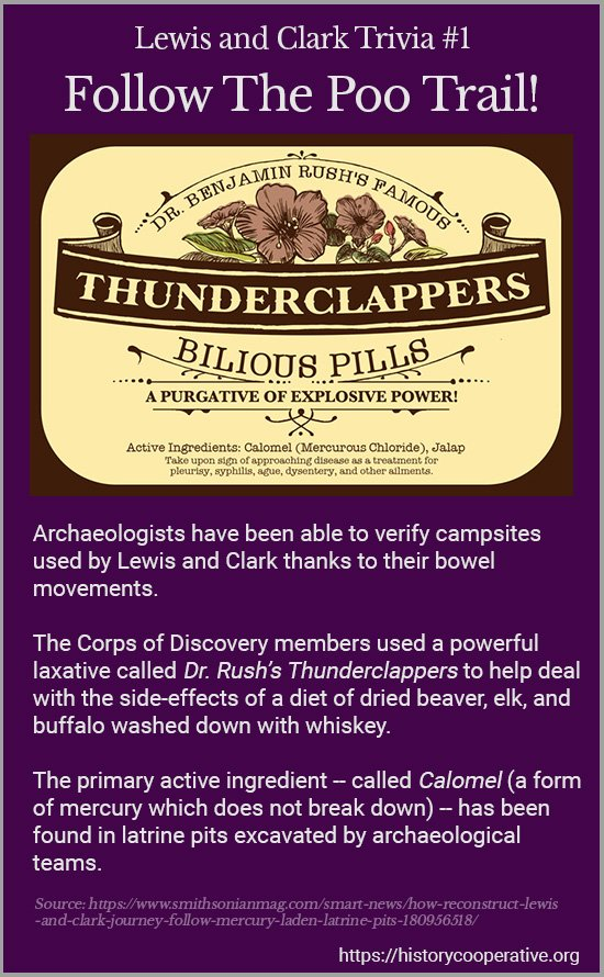Lewis and Clark Trivia