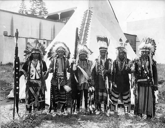 Umtilla/Nez Perce tribesmen