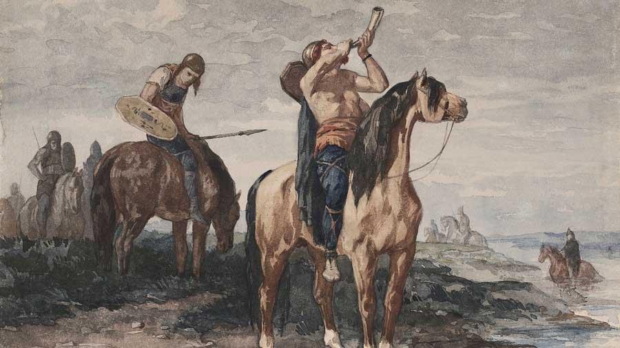 Gallic Horsemen